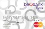 Carte de crédit Beobank Extra World MasterCard