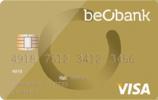 Carte de crédit Beobank VISA Gold