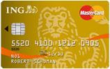 Carte de crédit ING MasterCard Gold