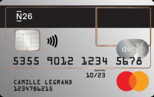 mastercard transparente n26