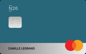 Carte Mastercard N26