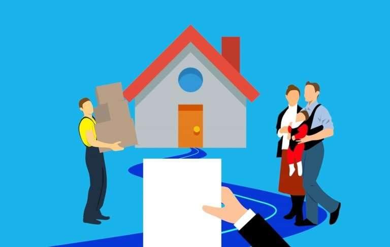 couple qui signe un prêt hypothécaire chez BNP Paribas Fortis