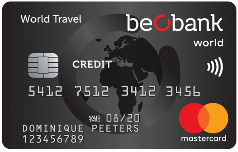 Beobank mastercard world travel