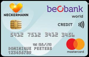 Beobank Neckermann World Mastercard