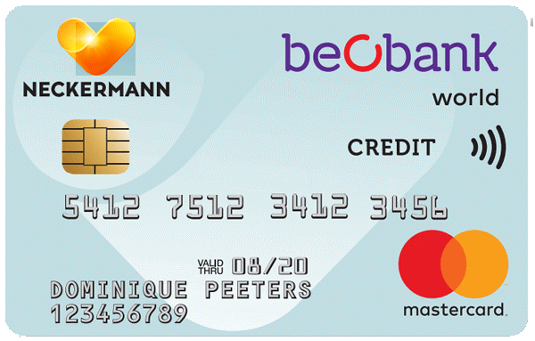 Beobank Neckermann World Mastercard