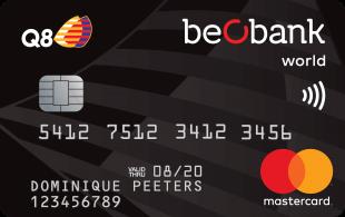 Beobank Q8 Mastercard