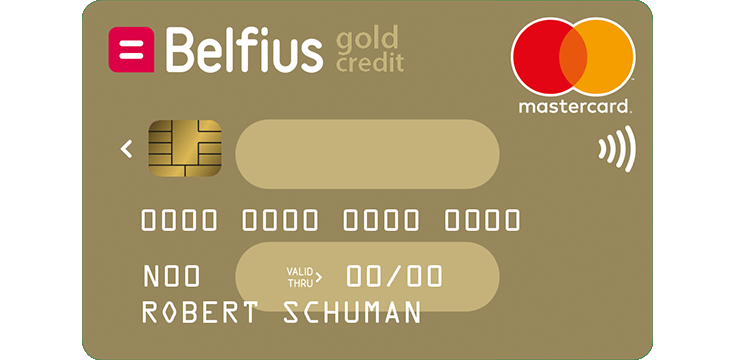 Belfius Mastercard Gold