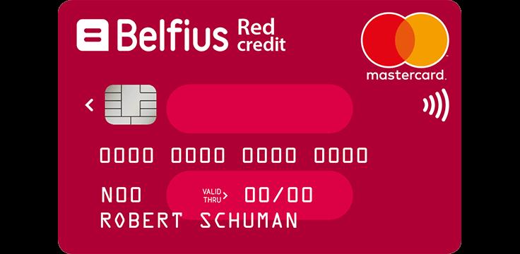 Belfius Mastercard Red