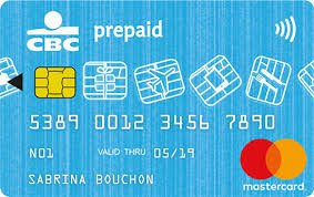 CBC Mastercard Prepaid