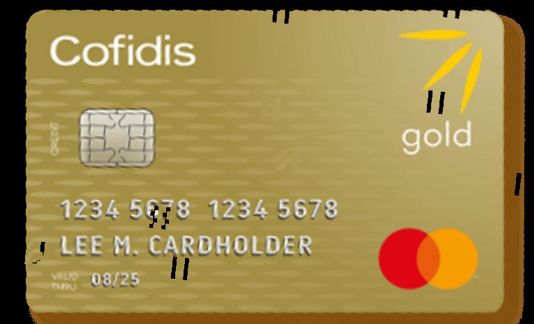 Mastercard gold Cofidis