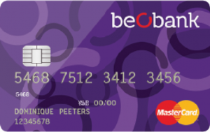 beobank mastercard student