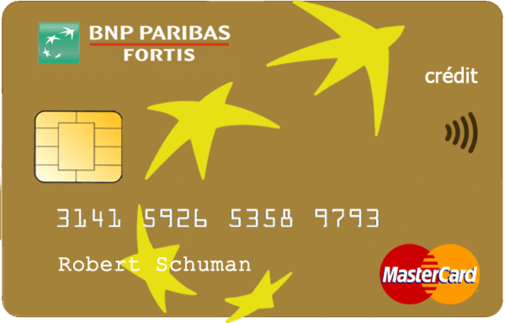 bnps Paribas fortis Mastercard gold