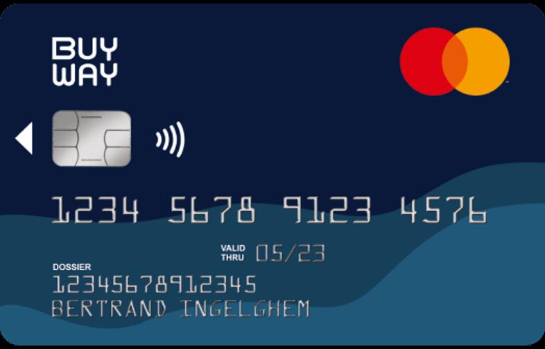 carte de crédit Mastercard buy way