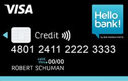 Hello Bank Visa