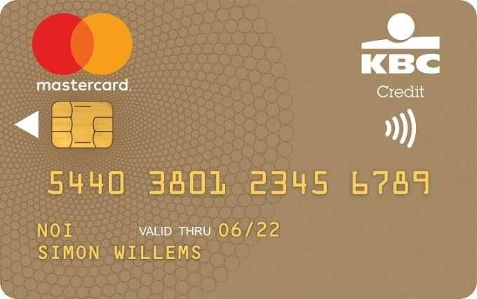 KBC Mastercard Gold