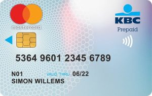 KBC Mastercard Prepaid
