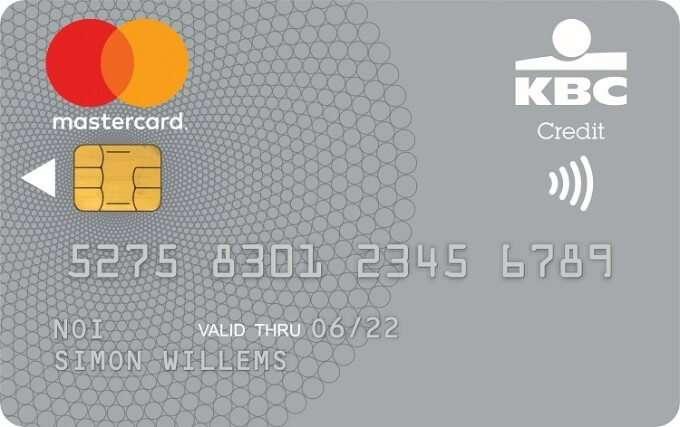 KBC Mastercard Silver