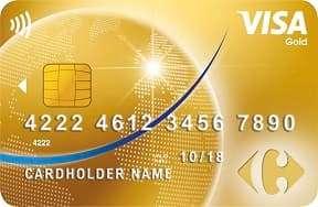 carte carrefour visa gold