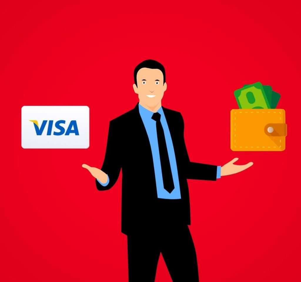 que faire avec ca carte de crédit Visa