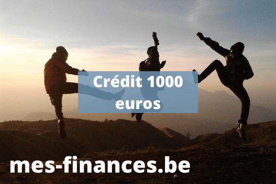 crédit 1000 euros