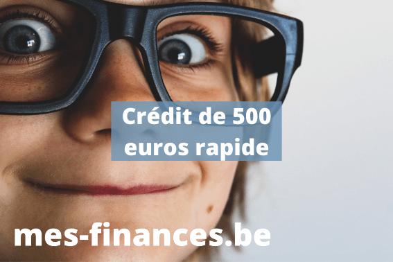 crédit de 500 euros rapide
