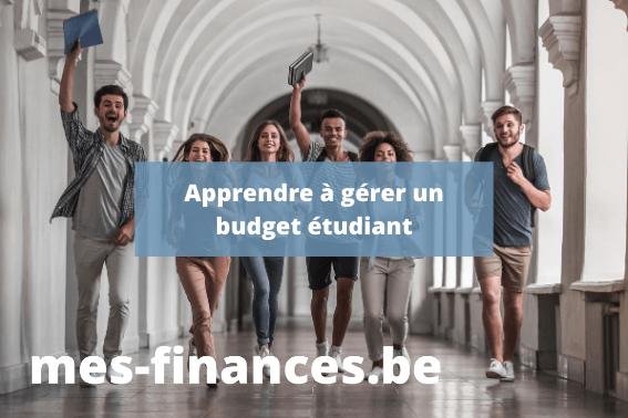 apprendre à gérer un budget étudiant