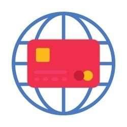 paiement par Carte de crédit à travers le monde