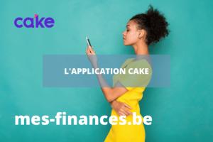 application cake
