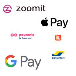 logo des applications pour payer avec smartphone