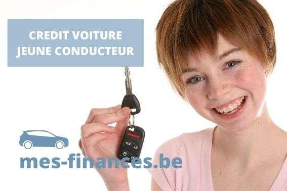 crédit voiture jeune conducteur