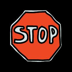 stop signe