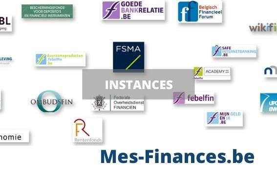 instances financières belges