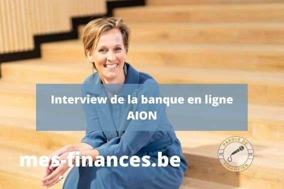 interview van Esbroeck banque en ligne AION