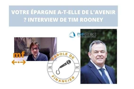 Interview Tim Rooney MeDirect
