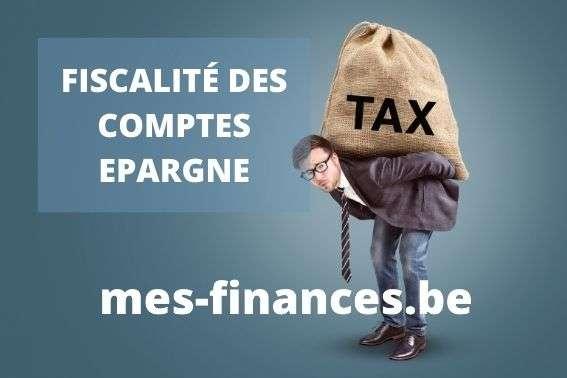 fiscalité compte épargne