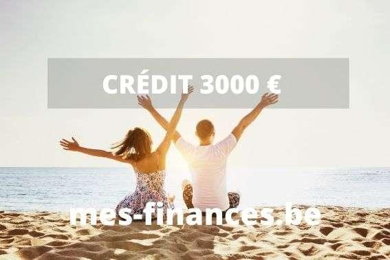 Crédit 3000 €