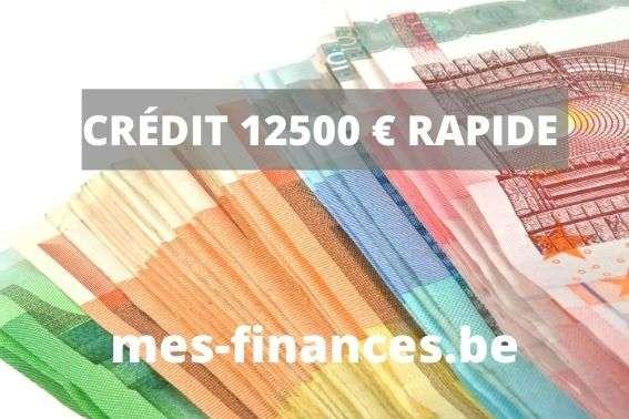 crédit 12 500 € rapide