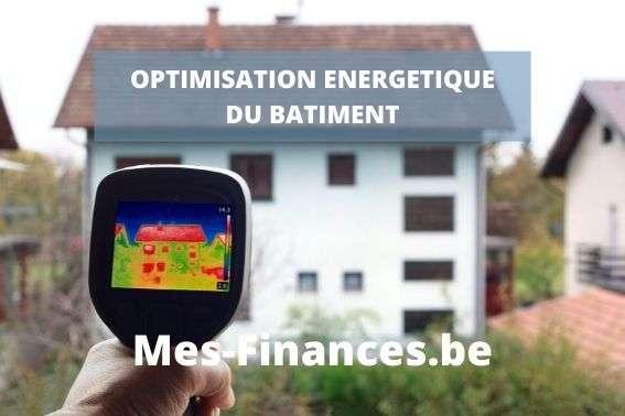 Optimisation énergétique du bâtiment