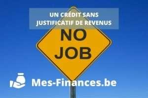crédit sans justificatif de revenus