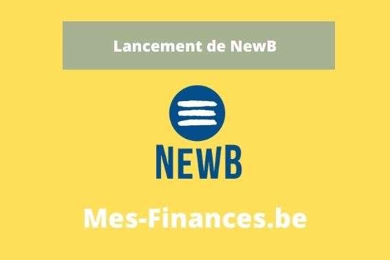 lancement de la banque NewB
