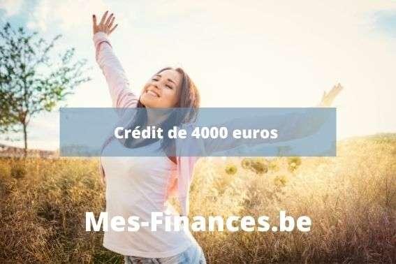 crédit 4000 euros - titre