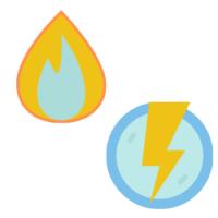 gaz et électricité